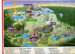 Disney park oversikt