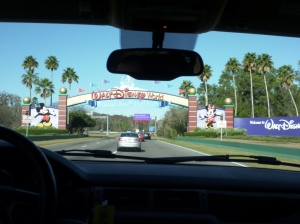 Now Entering DisneyWorld!