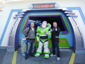 Guttan og Buzz Lightyear