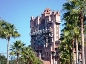 Hollywood Tower Hotel, The Tower of terror. The Twilight Zone!