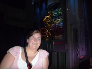 Meg og C3PO
