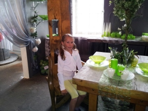 Miriam på Løten Lys