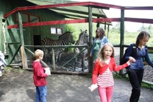 Hos Zebra og Strutsen!