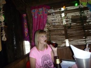 Min Date på Yayas me en Chang! :D I <3 Thailand!