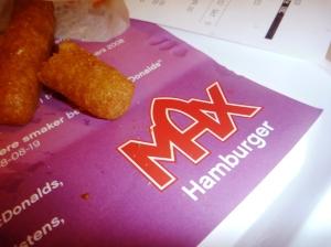 Kvelden ble avslutta på Max me hamburger og gomle gomle Mozzrella sticks!!