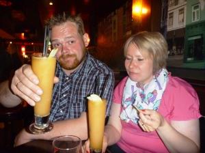 Skåål me Eplekakedrink! :D :D MErkelig, Eplekake e jo godt..men som drink??