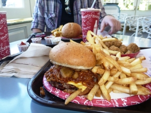 American lunsj i Epcot