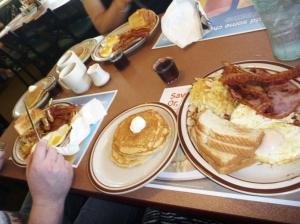 Lumberjack breakfast Denny's