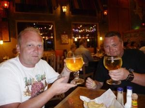 Skål, fine ølglass i Mexico