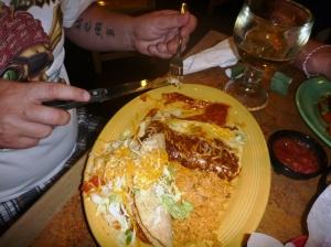 Taco Burritostallerken
