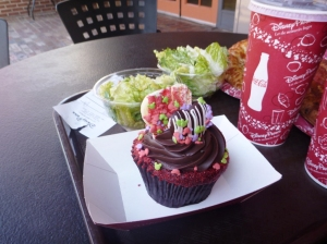 Valentines Day Cupcake i Hollywood Studios