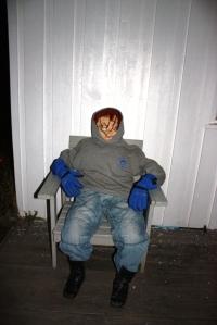 Chucky stakk innom!
