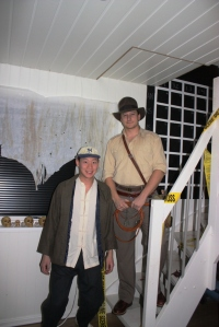 Indiana Jones and Short Round