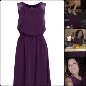 Min kjole kjøpt på ELLOS.no og  håret er ordna med en Pearl krølltang fra Remington, av Kristin.