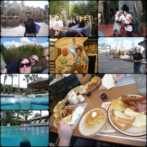 Februar USA!! Lumberjack breakfast, bading, Animal Kingdom, Star Tours, Shopping