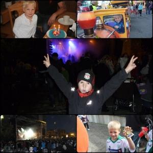 September. Phillip 4 år, Hamar Mart'n, FartCup i fotball, Remi på Plumbokonsert