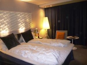 Hotellrommet på Radisson Blu Gardermoen