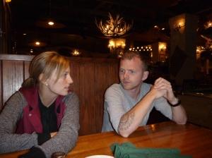 Middag me Iselin og Stian, på WildJacks Steakhouse
