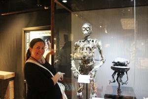 Meg og Naked C-3PO, Puppet from Star Wars Episode 1, The Phantom Menace