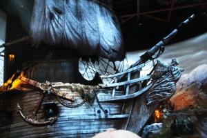 Etter å ha tatt the Tower of Terror tok vi en tur inn på the Pirates også da...