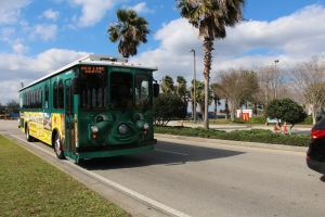 I-ride trolley! :D Red line North!