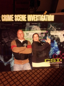 CSI the Experience! :D We solved the Crime!