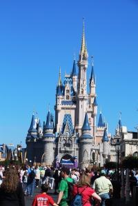 Slottet! :D Dete jo bare så Disney!