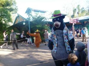 Parade, Baloo og Louie!