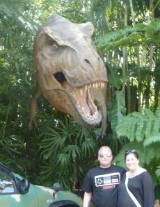 Now entering Jurassic Park...
