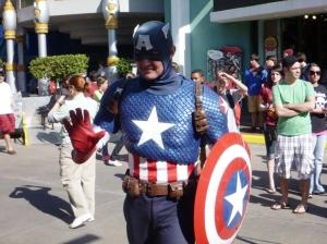 Captain America..