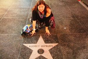 Meg og Audrey!:D :D I hvertfall stjerna hennes.