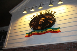 En bar på CityWalk  Universal. Bob Marley Tribute