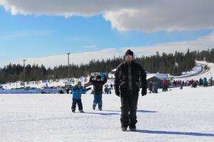 Budor skianlegg igjen! :D