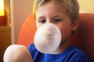 Blåse boble..me hubba bubba!