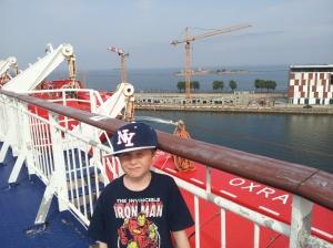 Vinke hade til Danmark i det vi reiser hjem!