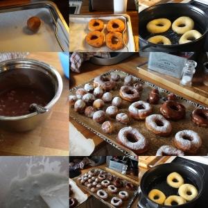 Steking, Resultat av steking, glassur og ferdige Donuts!