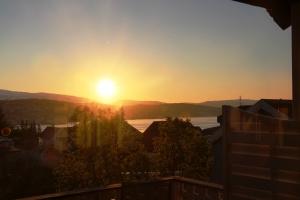 Midnattsola over Tromsø! :D