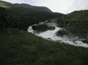 Abmelasfossen i Manndalen!