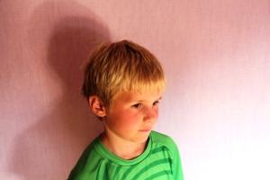 Remi før han var hos frisøren!