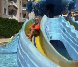 En tur på Atlantis badeland