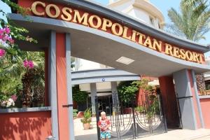 Phillip i inngangspartiet! Cosmopolitan Resort