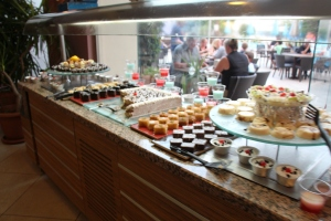 Dessert og kakebordet