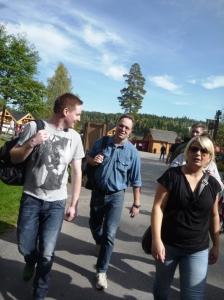 Øyvind, Erik (Astri og Stig bakder)og Kristin