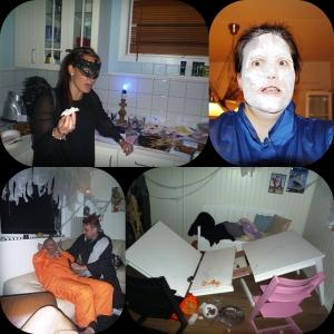 Stine smaker på hjernemasse, bordet som skada Hanne, Hannibal blir sverdstukket, selfie!