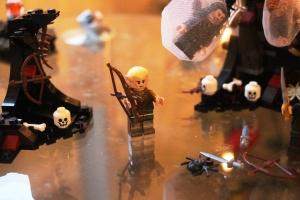 Legolas!! Og stakkars Killi som e fanga i edderkoppspinn! :D