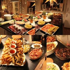 Herregud kor mye deili mat! Fantastisk godt!!