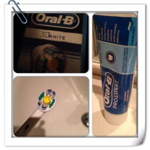 Oral-B 3D White for blekere tenner