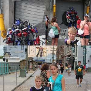 Remi fikk også se Transformers.