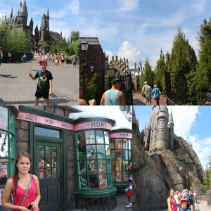 Welcome to Hogsmeade og Hogwarts. HoneyDukes.