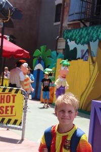 Remi og Phineas og Ferb.